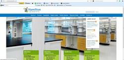 Hamilton Scientific's new website Home Page