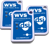 DSI branded log tag devices for WVS
