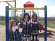 Everest Academy preschoolers soak in the sunshine & fresh air out on the playground