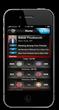 Fanatic iPhone App, 'Home' screenshot
