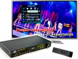 CeeNee BeeGee HD Karaoke Network Media Player