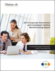 2013 Corporate Governance and Compliance Hotline Benchmarking Report