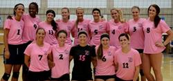 2012 SLCC Volleyball team: AVCA Team Academic Award Winners