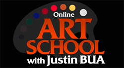 How To Draw with Justin BUA - Online Art Lessons