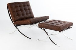 Barcelona Chair and Ottoman by Rove Concepts