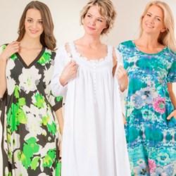 Serene Comfort Nightgowns, Kaftans & Dresses