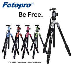 Fotopro C5i Camera Tripod Kit - Be Free.