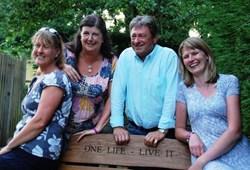 Our Memorial Bench on ITV - Love Your Garden