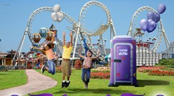 The PURPLE POTTY Portable Potty Rental in New York