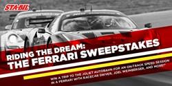 ferrari, sweepstakes, STA-BIL, Facebook, racecar