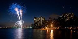 Waikiki Ocean Club Friday Night Fireworks
