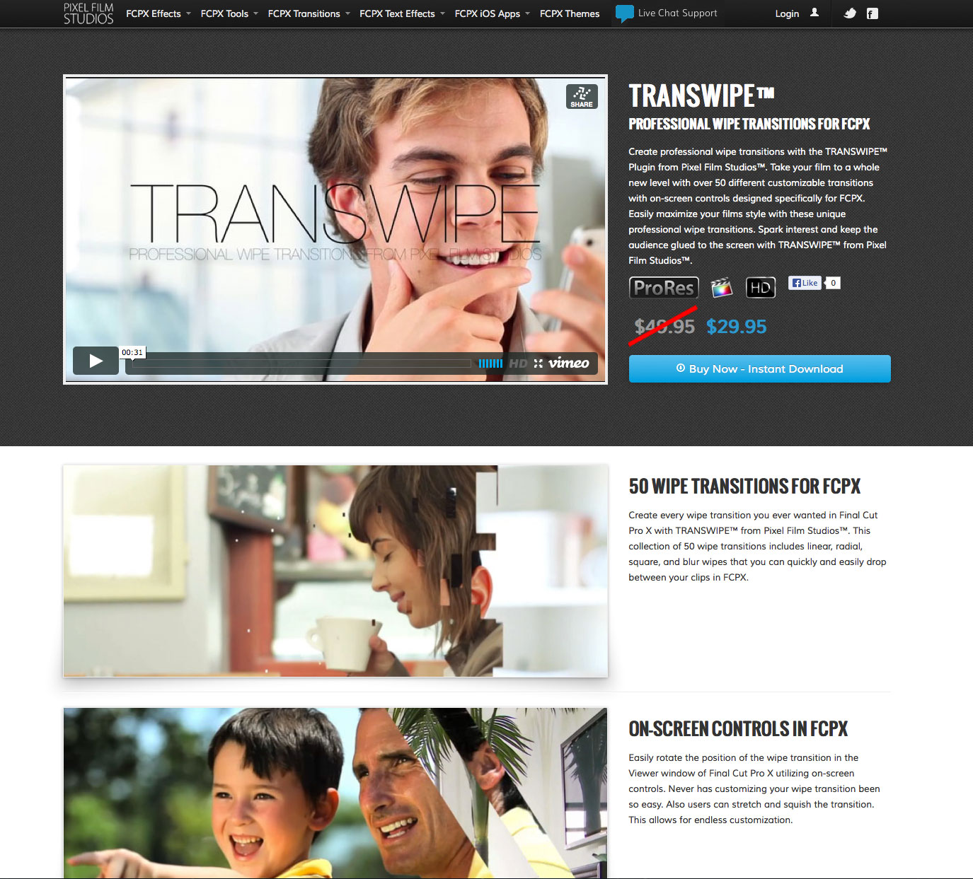 how to install transitions to final cut