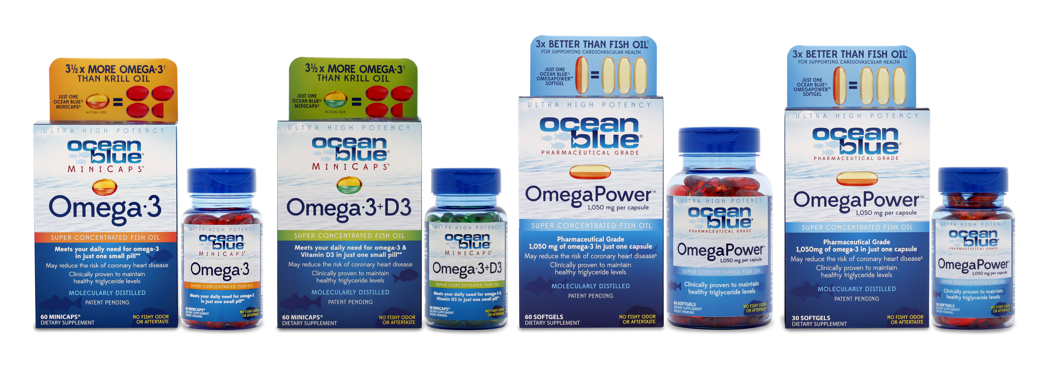 Sancilio company launches a comprehensive website for for Ocean blue fish oil