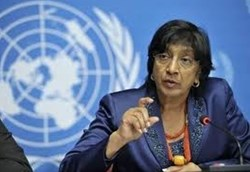 Navanethem Pillay, UN High Commissioner for Human Rights