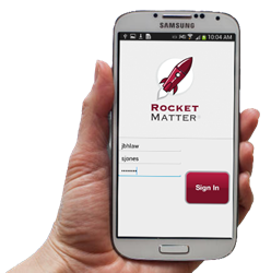 The Rocket Matter Android App for Lawyers