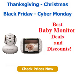 Black Friday baby monitor deals and Cyber monday discounts