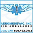 International Air Ambulance Service Now Available to Anywhere in the World from Aeromedevac