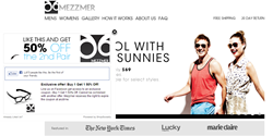 Mezzmer Eyewear Scores a Perfect 20 20 in Social Commerce with ShopSocially Partnership