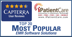 iPatientCare Rated by Capterra