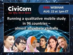 Civicom Mobile Qual in 96 Countries