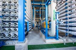 RWL Water Nirosoft water treatment equipment to treat brackish water