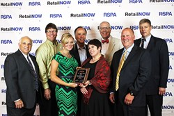 The APG Team Accepting the 2013 RSPA  Award