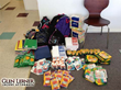 Glen Lerner Injury Attorneys donate school supplies for Pahrump, Nev. fundraiser.