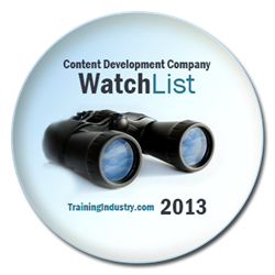 TrainingIndustry.com Content Development Watch List '13