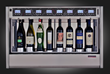 WineEmotion™ Quattro+4: commercial dispensing and preservation for eight bottle positions in 2 climate zones