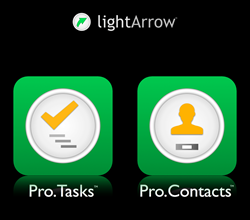 Pro.Tasks and Pro.Contacts App Icons