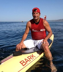 John Kucera will compete in the Catalina Classic Paddleboard Marathon to help sarcoma patients.