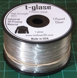 "New 3D-Printing Material ""T-Glase"""