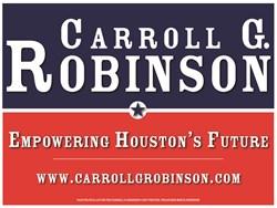 Carroll G. Robinson 4 HCC TRUSTEE, Houston Community College