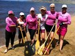 Pacific Cancer Foundation - Pink Paddlers - Paddle for Life Voyage to Lana'i