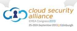 Cloud Security Alliance EMEA Congress 2013