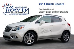 2014 Buick Encore In Stock at Liberty Buick GMC Charlotte