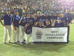 Chula Vista California Eastlake Little League World Series