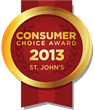 2013 St. John's Consumer Choice Award Winners