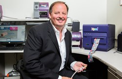 Quick Fitting CEO David Crompton cut costs by 40% by printing labels on-site with the Kiaro! label printer