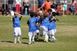 San Diego Surf Boys U7 showing team spirit