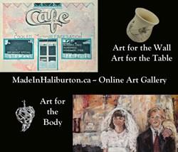 Online Art Gallery MadeInhaliburton.ca