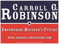 Carroll G. Robinson 4 HCC TRUSTEE, Houston Community College