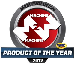 M2M Evolution Product of the Year logo