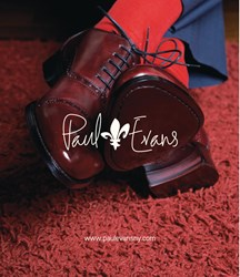 Paul Evans Oxblood Semi-Brogue