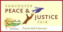 Vancouver WA Chiropractor Good Health Naturally Sponsors 10th Annual Vancouver Peace and Justice Fair