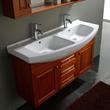 "James Martin Solid Wood 47.25"" Winola Double Bathroom Vanity 147-515-DA-5521"