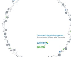 Customer Engagement Lifecycle Report Cover