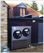 25kW Air Source Heat Pump from Earth Save Products can earn oil-fuelled homes over £3000 a year for 7 years.