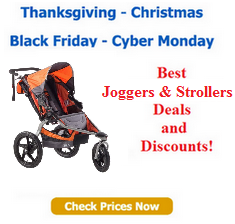 Black Friday jogger deals and Cyber Monday Stroller discounts