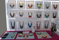 Handcrafted Vintage Lucite Necklaces by Jenne Rayburn